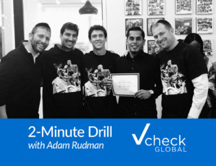 2-minute drill, adam rudman, vcheck global, mamba mentality, mamba award